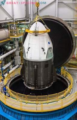 Oprema Dragon V2 je pripravljena za testiranje