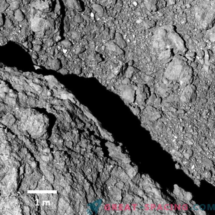 Asteroid je bil peščica kamnov. Kakšna je narava Ryuguja