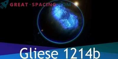 Exoplanet Gliese 1214b je v celoti sestavljen iz vode, vendar je tam življenje