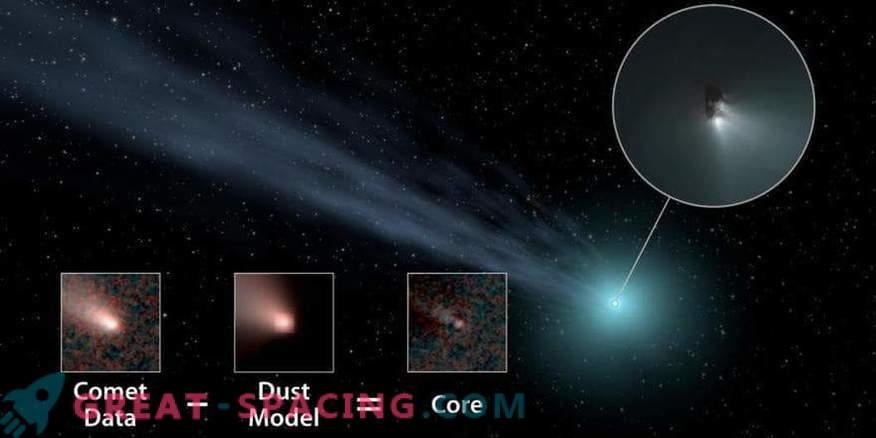 Pogosti so veliki oddaljeni kometi.