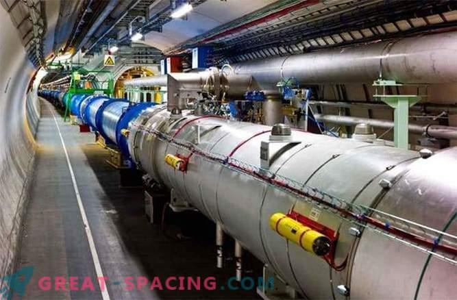 Veliki hadronski trkalnik je pripravljen najti delce temne snovi