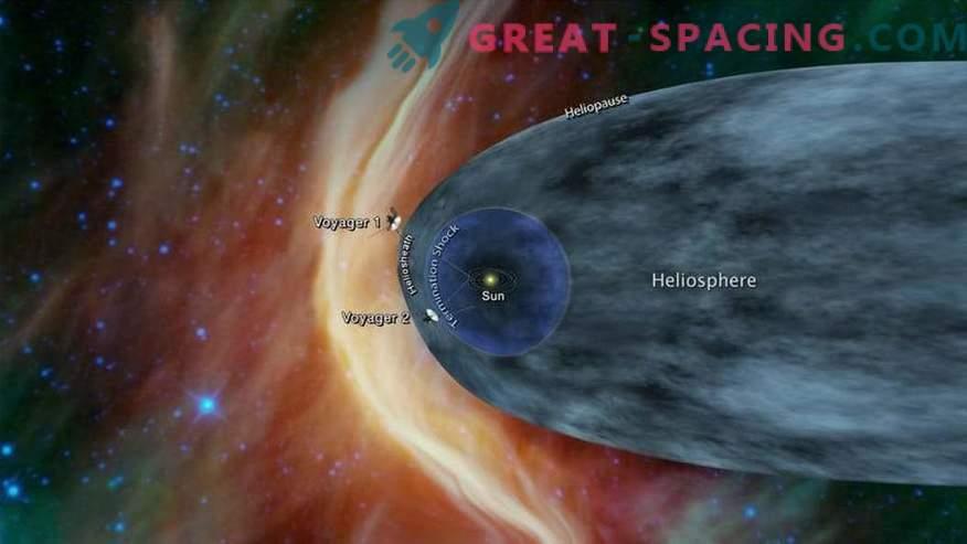 NASA Voyager-2 se približuje skrivnostnemu medzvezdnemu prostoru