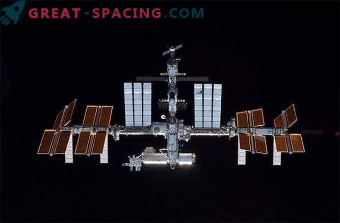 Prekinjeno delo na ISS