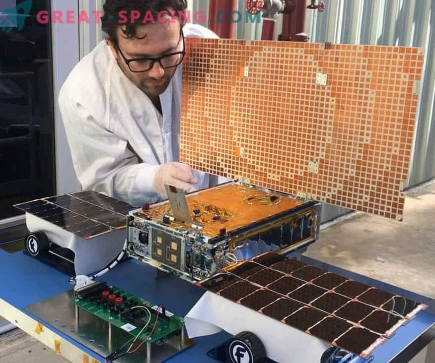 MarCO mini-vesoljski izvidniški zrakoplov MarCO utihne