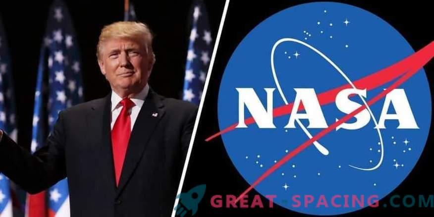Trumpovi načrti za NASA