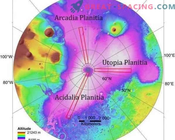 Nova metoda odkrivanja ledu na Marsu