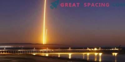 Uspešen zagon satelita in pristanek rakete SpaceX