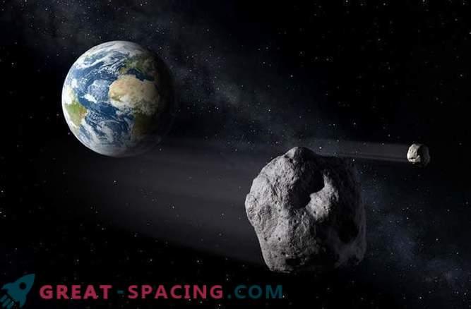 Srednje velik asteroid lahko pripelje do ledene dobe