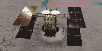 Hayabusa-2 spet ustreli asteroid v iskanju starih vzorcev