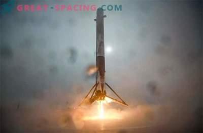SpaceX je naredil trdo pristanek