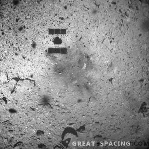 Japonska sonda pošlje posnetek po vzorčenju