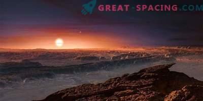 Vesoljska vremenska napoved za Proxima Centauri b
