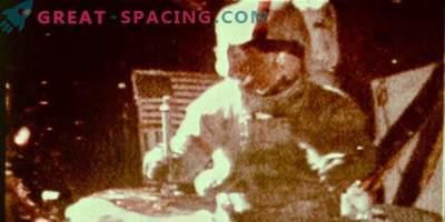 Kateri poskus je izvedel astronavti Apollo 15 na Luni