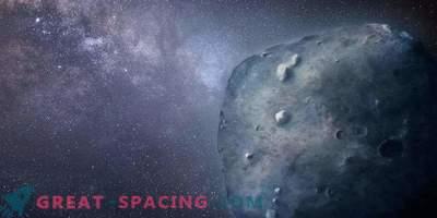 Skrivnostno obnašanje redkega modrega asteroida
