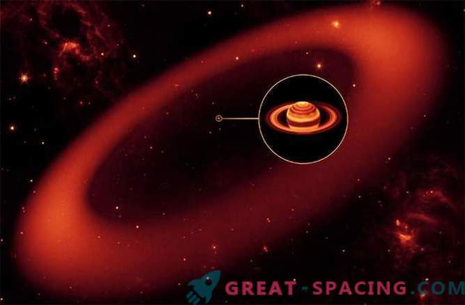 Na novo odkrit prstan Saturna zasenči plinski velikan