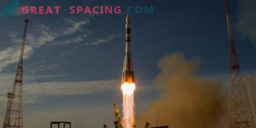 Rusland hield de eerste lancering na een slechte start
