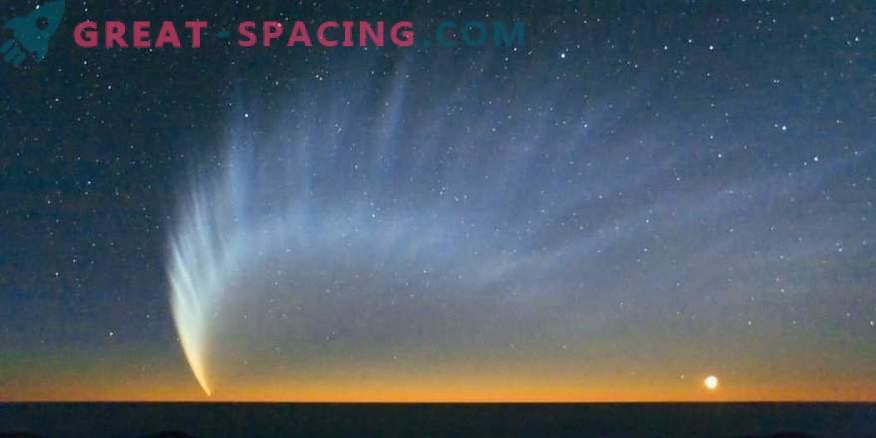 Zgodba o prihodu nenavadnega kometa Shezo s šestimi repi