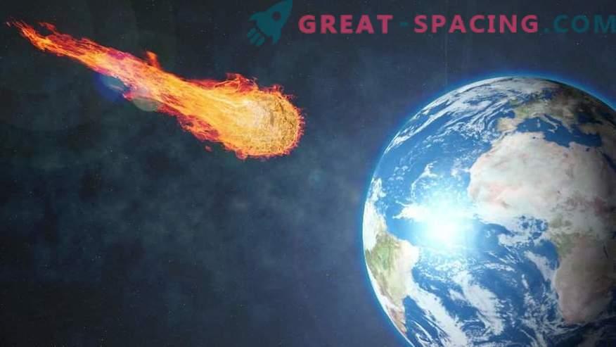 Priča je posnela neznano ognjeno kroglo nad Krasnojarskim.