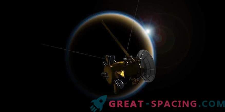 Cassinijevo slovo nad Titanom