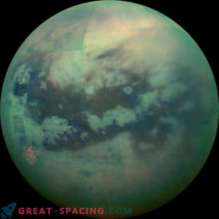 Raziskovalci opazujejo največjo Saturnovo luno
