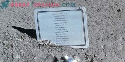 Zakaj so pustili znak na luni z imeni mrtvih astronavtov