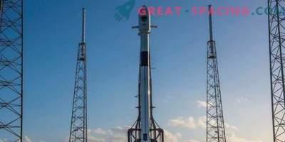 SpaceX zamuja zagon navigacijskega satelita zaradi močnega vetra