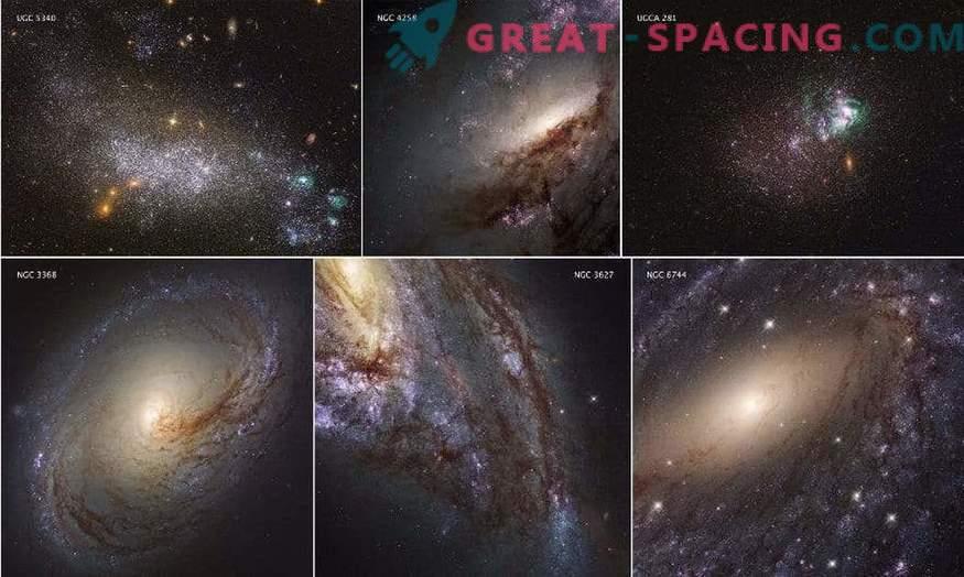 Znanstveniki so objavili popoln pregled UV svetlobe bližnjih galaksij