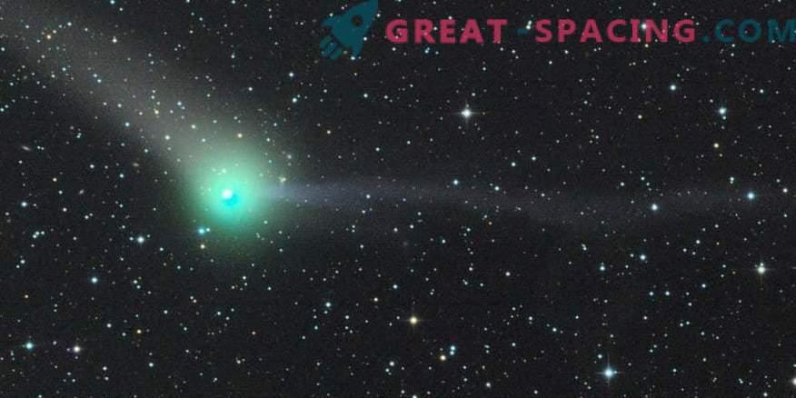 Prvi razpon kometa prinaša nove skrivnosti.