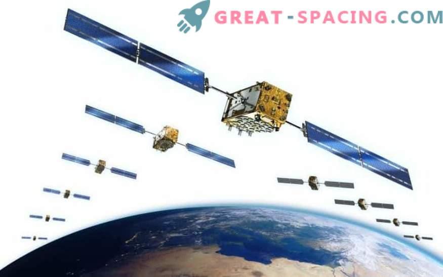 Par satelitov za Galileo prispejo v džunglo