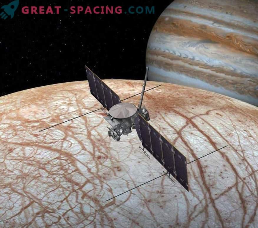 Znanstveniki se pripravljajo na misijo na evropski ledeni satelit Jupitra