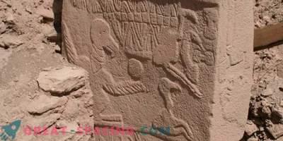 Najpomembnejši šok kometa je prikazan na kamnitih stebrih