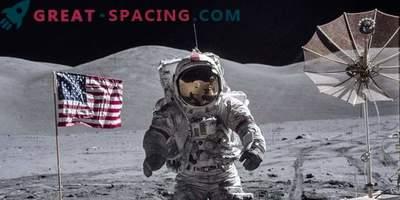 Amerika načrtuje vrnitev na Luno leta 2028