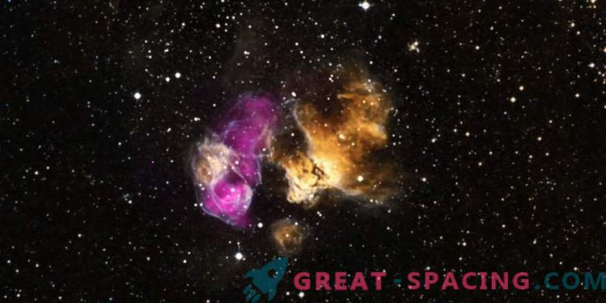 Zvezda je bila uničena z eksplozijo supernove