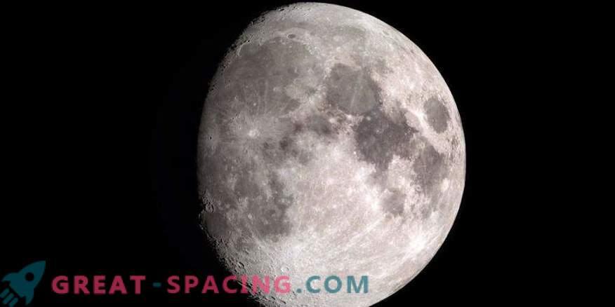 Sanje, da ustvarite vodo na luni? Uporabite sončni veter