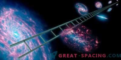 Kalibracija označevalcev za vesoljsko razdaljo