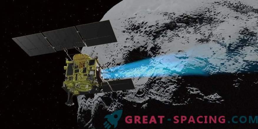 Hayabusa-2 odloži spuščanje sonde na asteroid Ryugu