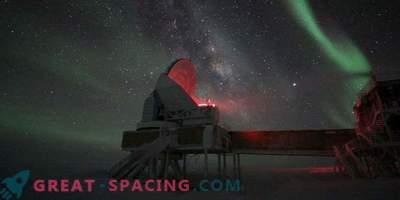Ekstremna astronomija razkriva skrivnosti južnega pola