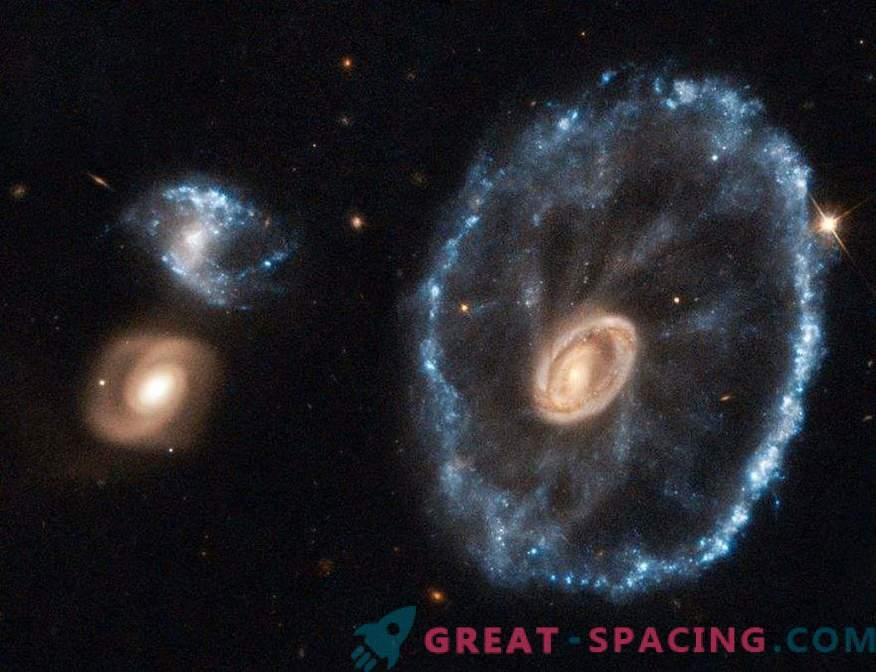 Zakaj so galaksije napačne