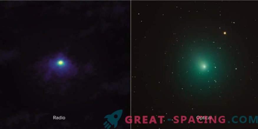 Zapri komet 46P / Virtanen iz ALMA