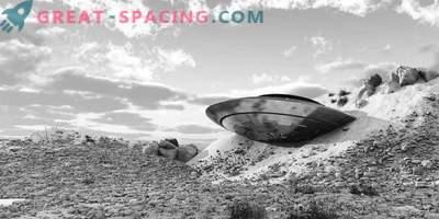 Nesreča v Novi Mehiki - 1948. Priče so opisale propadle neznane predmete