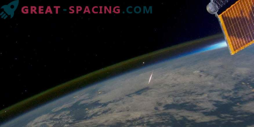 Fireball je padel meteoriti