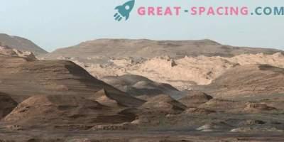Radovednost Rover razkriva skrivnost gora v Marsu