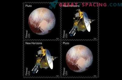 Misija New Horizons bo natisnjena na znamki.