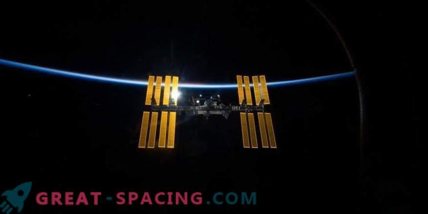 Zamude pri slabem vremenu na ISS