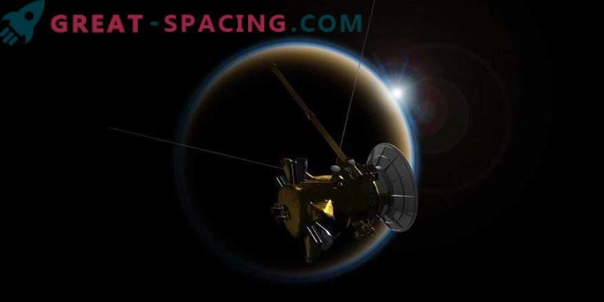Končno srečanje Cassinija z Titanom