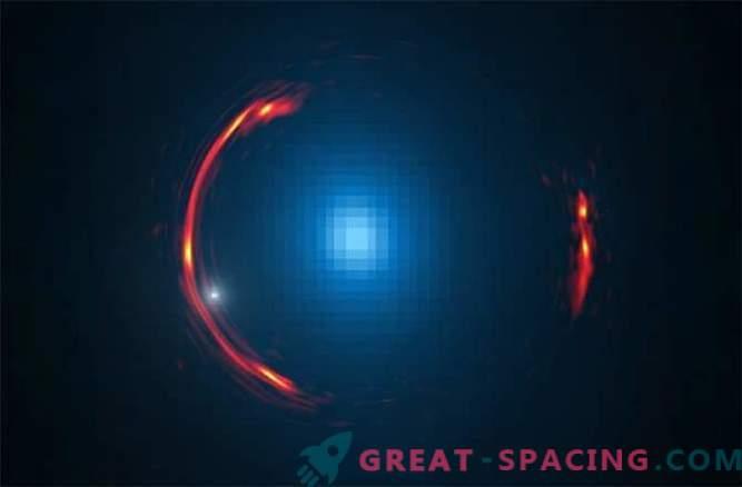 Temna snov v pritlični galaksiji je skrita v deformaciji prostora-časa