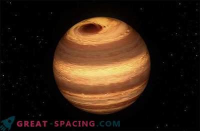 Veliki Jupiter - kot nevihta divja na hladno