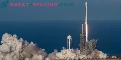 SpaceX skuša vrniti več raket Falcon 9