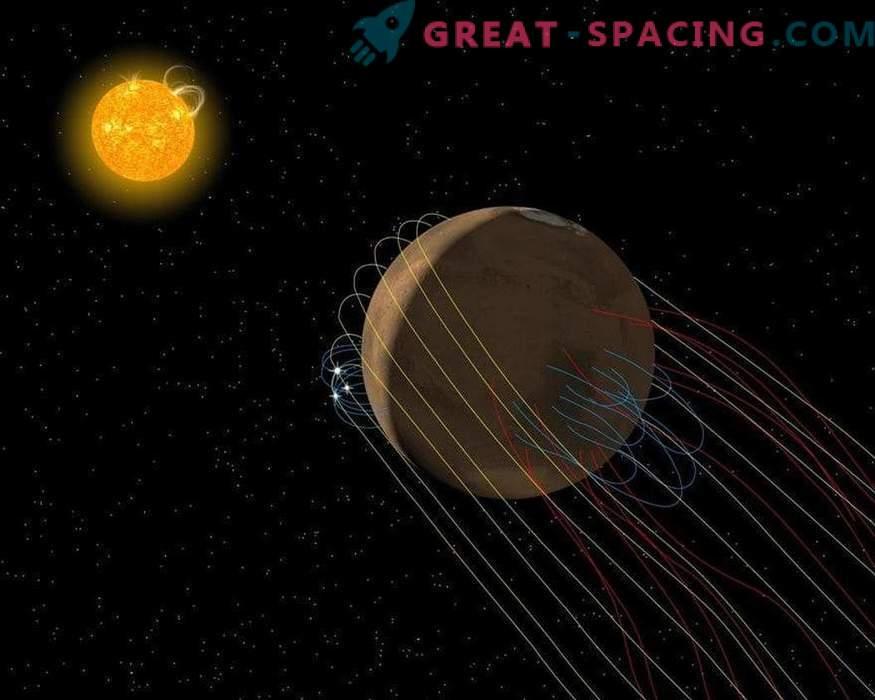 Mars ima ukrivljen rep