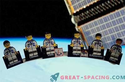 Velika Britanija iz astronavta je predstavila vesoljsko postajo LEGO za brezplačne kolesarje